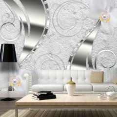 Artgeist Fototapete - Flowering abstraction