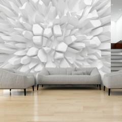 Artgeist Fototapete - White dahlia