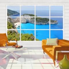 Artgeist Fototapete - Window on the world