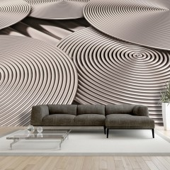Artgeist Fototapete -  Copper Spirals