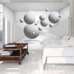 Artgeist Fototapete - Balls in White