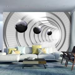 Artgeist Fototapete - Futuristic Tunnel