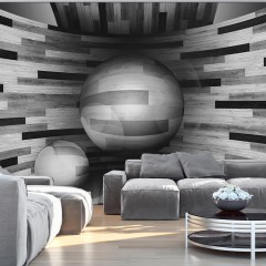 Artgeist Fototapete - Gray sphere