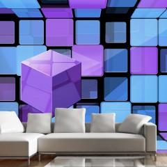 Artgeist Fototapete - Rubik's cube: variation