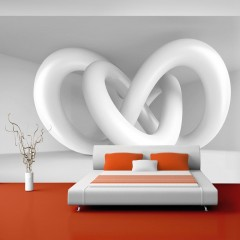 Artgeist Fototapete - White weave