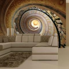 Artgeist Fototapete - Decorative spiral stairs