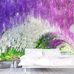 Artgeist Fototapete - Enchanted garden
