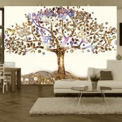 Artgeist Fototapete - Goldener Baum