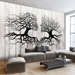Artgeist Fototapete - A Kiss of a Trees