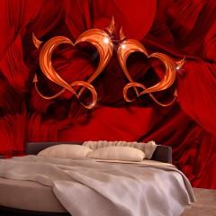Artgeist Fototapete - Two hearts