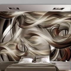 Artgeist Fototapete - Brown Revelry