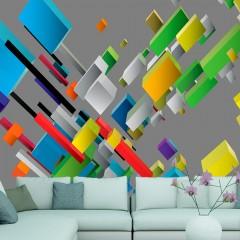 Artgeist Fototapete - Color puzzle