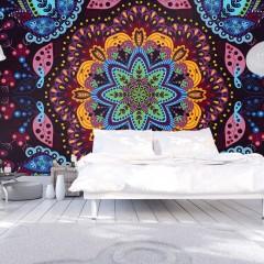 Artgeist Fototapete - Colorful kaleidoscope