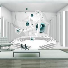 Artgeist Fototapete - Corridor of Geometry