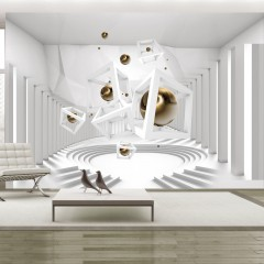 Artgeist Fototapete - Geometrical Corridor