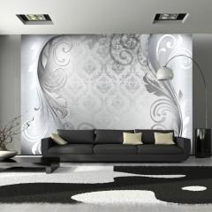 Artgeist Fototapete - Gray ornament