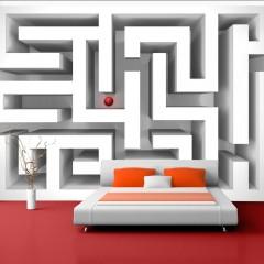 Artgeist Fototapete - Ice labyrinth