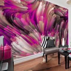 Artgeist Fototapete - Purple Energy
