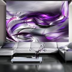 Artgeist Fototapete - Purple swirls