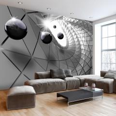 Artgeist Fototapete - Steel Illusion