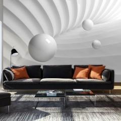 Artgeist Fototapete - Weiße Symmetrie
