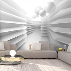 Artgeist Fototapete - White Maze