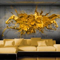 Artgeist Fototapete - Yellow Splash