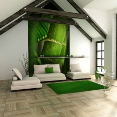 Artgeist Fototapete - Bambus - Detail