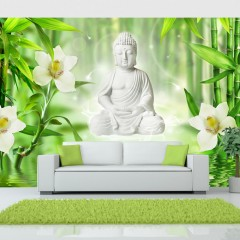 Artgeist Fototapete - Buddha and nature