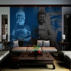 Artgeist Fototapete - Drei Inkarnationen des Buddha