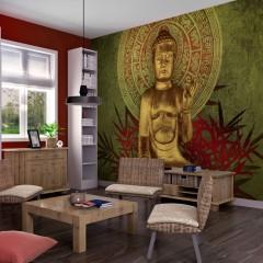 Artgeist Fototapete - Goldener Buddha