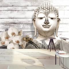 Artgeist Fototapete - Smiling Buddha
