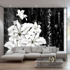 Artgeist Fototapete - Crying lilies