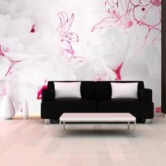 Artgeist Fototapete - Enveloped in white