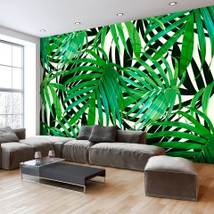 Artgeist Fototapete - Tropical Leaves
