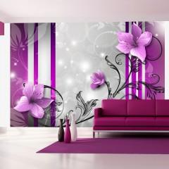 Artgeist Fototapete - Violet buds
