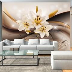 Artgeist Fototapete - Golden Lily