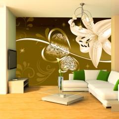 Basera® Fototapete Lilienmotiv 10110906-4, Vliestapete