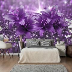 Artgeist Fototapete - Masterpiece of Purple