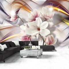 Artgeist Fototapete - Artistic Magnolias