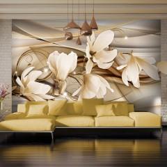 Artgeist Fototapete - Dance of Flowers