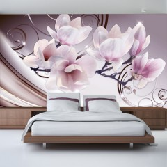 Basera® Fototapete Magnoliamotiv b-A-0222-a-c, Vliestapete