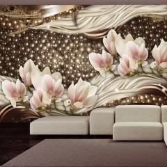 Artgeist Fototapete - Pearls and Magnolias