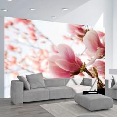 Basera® Fototapete Magnoliamotiv 100406-91, Vliestapete