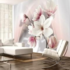 Artgeist Fototapete - White magnolias