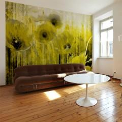Artgeist Fototapete - Yellow madness