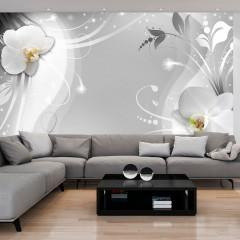 Basera® Fototapete Orchideenmotiv b-A-0149-a-b, Vliestapete