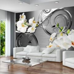 Basera® Fototapete Orchideenmotiv b-A-0065-a-b, Vliestapete