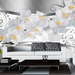 Basera® Fototapete Orchideenmotiv b-A-0111-a-b, Vliestapete