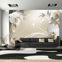 Basera® Fototapete Orchideenmotiv b-A-0060-a-d, Vliestapete